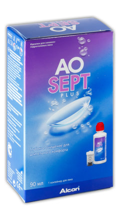 AOSEPT PLUS ПЕРОКСИДНАЯ СИСТЕМА (90 МЛ + КОНТЕЙНЕР)